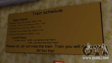 Station in San Fierro Final for GTA San Andreas fifth screenshot