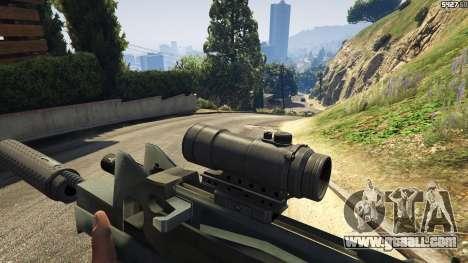 Battlefield 4 Famas for GTA 5