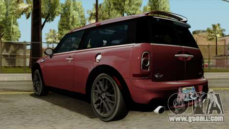 Mini Cooper Batik PaintJob for GTA San Andreas left view