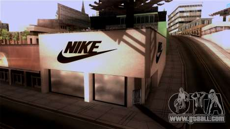 New Shop Nike for GTA San Andreas