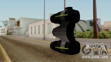 Original HD Thermal Goggles for GTA San Andreas second screenshot
