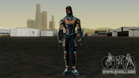 Ant-Man Orange Jacket for GTA San Andreas second screenshot