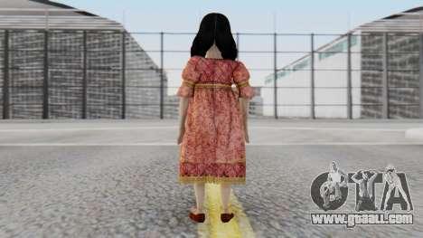 Cereza Bayonetta (child) for GTA San Andreas third screenshot