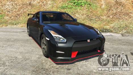 Nissan GT-R Nismo 2015 for GTA 5