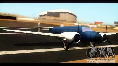 Bomber v1.0 for GTA San Andreas