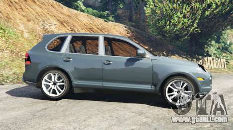 GTA 5 Porsche Cayenne Turbo S 2009 v0.5 [Beta] left side view