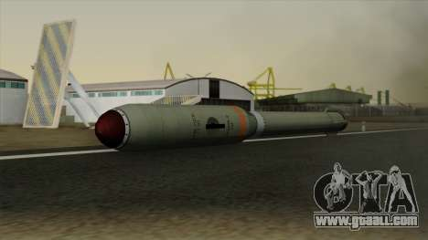Homing Missile for GTA San Andreas