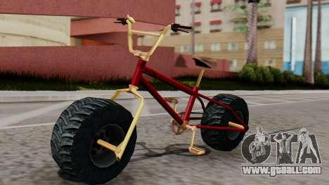 Monster BMX for GTA San Andreas