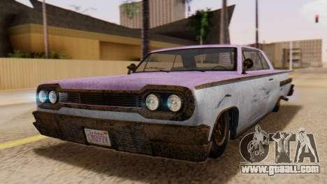 GTA 5 Declasse Voodoo Worn for GTA San Andreas