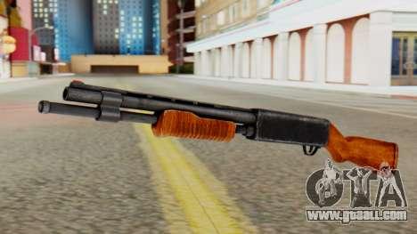 Xshotgun Pump action shotgun for GTA San Andreas