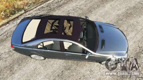 GTA 5 Mercedes-Benz S500 W221 v0.2 [Alpha] back view