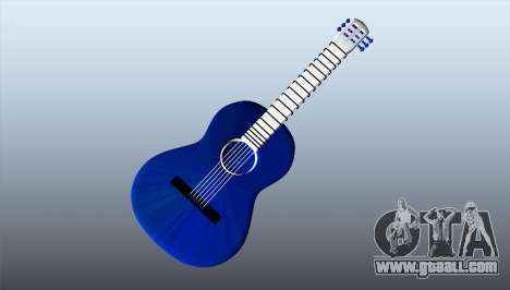 Classical guitar for GTA 5