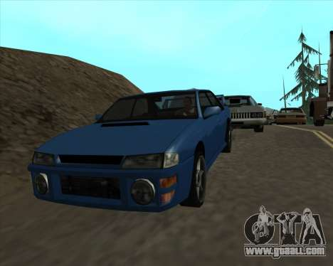 Sultan v1.0 for GTA San Andreas right view