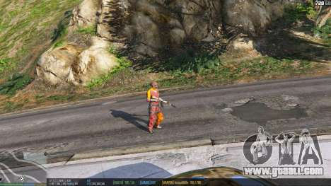 GTA 5 The status bar v.0.1