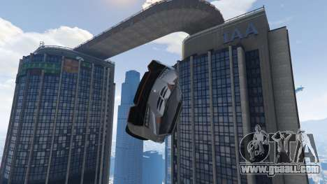 GTA 5 Maze Bank Mega Spiral Ramp sixth screenshot