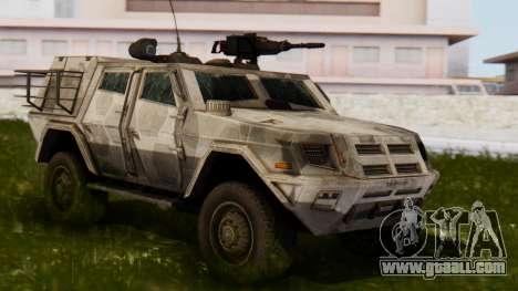 BAE Systems JLTV for GTA San Andreas