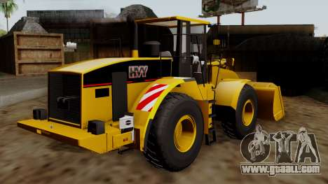 GTA 5 HVY Dozer for GTA San Andreas left view