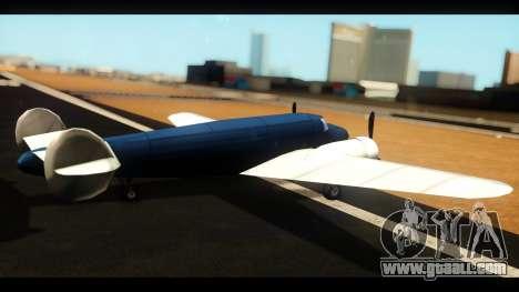 Bomber v1.0 for GTA San Andreas left view