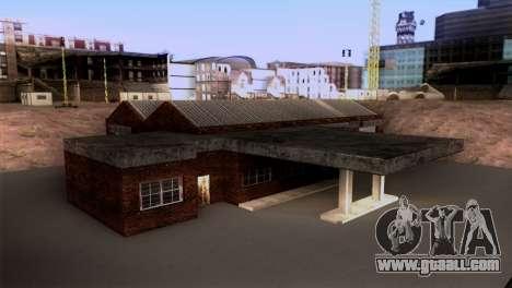 New LSPD garage for GTA San Andreas second screenshot