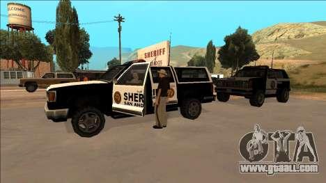 DLC Big Cop and All Previous DLC for GTA San Andreas forth screenshot