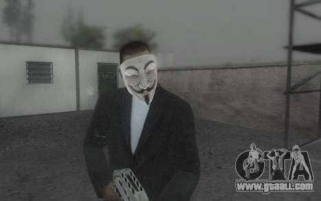 DayZ Mask for GTA San Andreas third screenshot