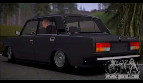 VAZ 2107 Runoff Quality for GTA San Andreas upper view