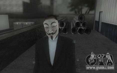 DayZ Mask for GTA San Andreas