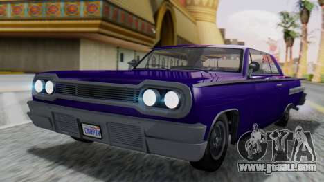 GTA 5 Declasse Voodoo IVF for GTA San Andreas
