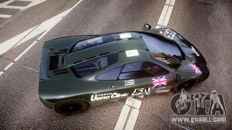 McLaren F1 1993 [EPM] Ueno Clinic for GTA 4 right view