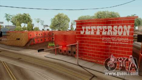 Motel Jefferson for GTA San Andreas second screenshot