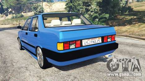 GTA 5 Tofas Dogan rear left side view