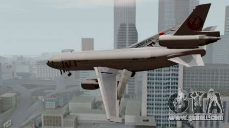 DC-10-30 Japan Airlines for GTA San Andreas left view