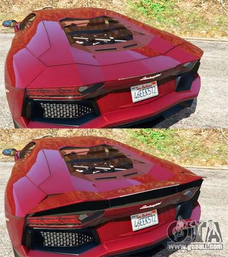 Lamborghini Aventador LP700-4 v0.2 for GTA 5