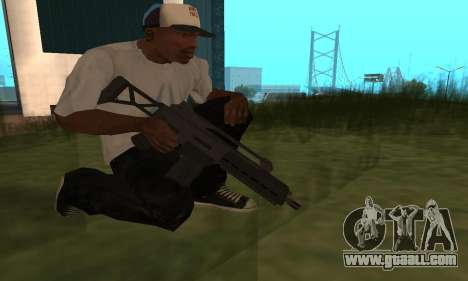 GTA 5 Special Carbine for GTA San Andreas