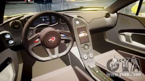 McLaren P1 2014 [EPM] Harrods GTR for GTA 4 back view