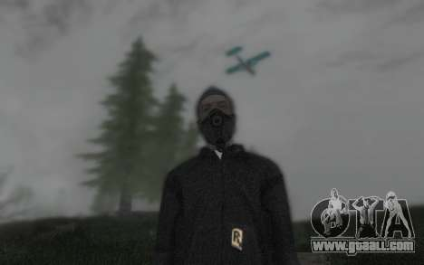 GTA5 Gasmask for GTA San Andreas forth screenshot