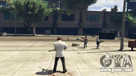 Bodyguard Menu 1.7 for GTA 5