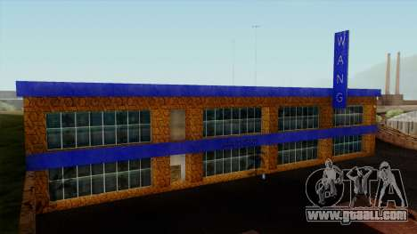The Wang Cars Showroom for GTA San Andreas