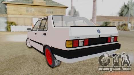 Tofas Turbo SLX 1.6 for GTA San Andreas left view