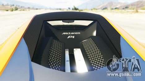 Progen T20 McLaren P1 for GTA 5