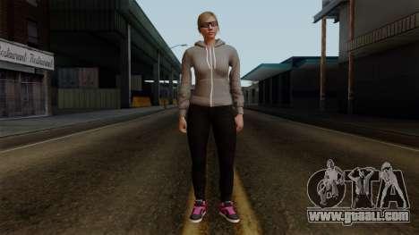 GTA 5 Online Female02 for GTA San Andreas second screenshot