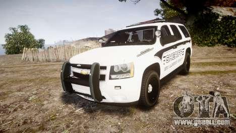 Chevrolet Tahoe 2013 New Alderney Sheriff [ELS] for GTA 4