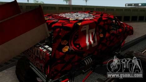 The Seventy Monster v2 for GTA San Andreas side view