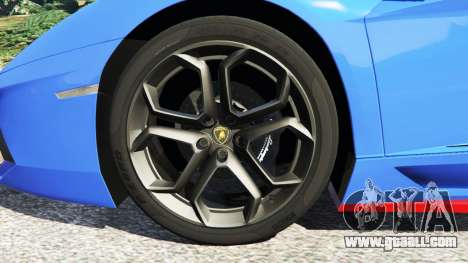 Lamborghini Aventador LP700-4 v1.2 for GTA 5