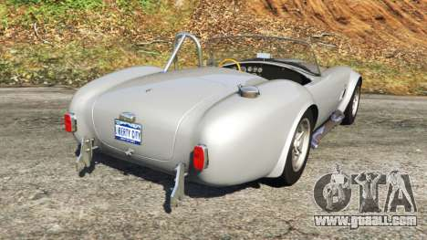 GTA 5 AC Cobra [Beta] back view