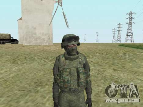 Pak fighters of special troops of GRU for GTA San Andreas seventh screenshot