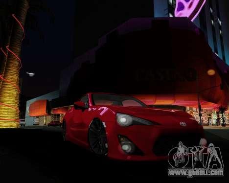 ENB Pizx for GTA San Andreas sixth screenshot