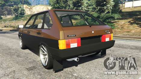 GTA 5 VAZ-21093i rear left side view
