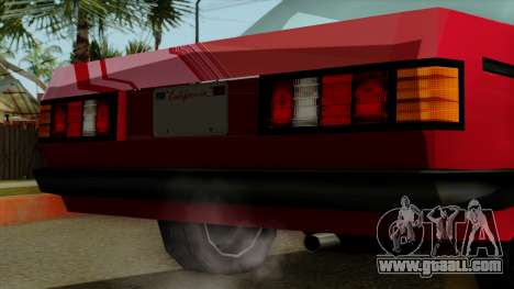 Admiral from Vice City Stories IVF for GTA San Andreas right view
