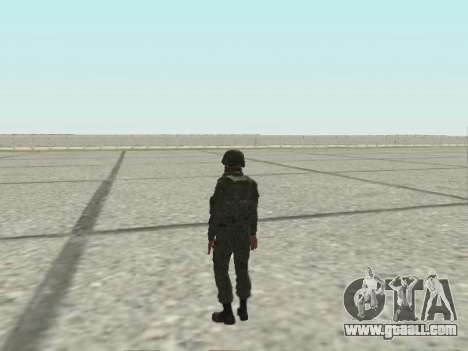 Pak fighters of special troops of GRU for GTA San Andreas twelth screenshot